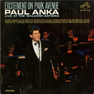 アルバム/Excitement on Park Avenue, Live at the Waldorf-Astoria/Paul Anka