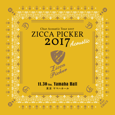 "ZICCA PICKER 2017 ""Acoustic"" vol.3 live in Tokyo/Char"