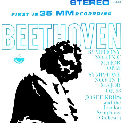 アルバム/Beethoven: Symphonies No. 1 & 8 (Transferred from the Original Everest Records Master Tapes)/London Symphony Orchestra & Josef Krips