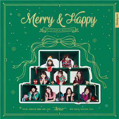 アルバム/Merry & Happy/TWICE