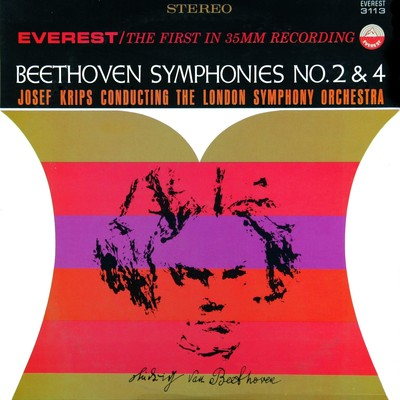 アルバム/Beethoven: Symphonies No. 2 & 4 (Transferred from the Original Everest Records Master Tapes)/London Symphony Orchestra & Josef Krips