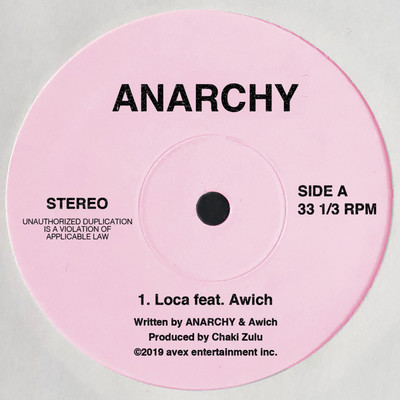 シングル/Loca feat. Awich/ANARCHY