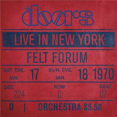 アルバム/Live in New York/The Doors