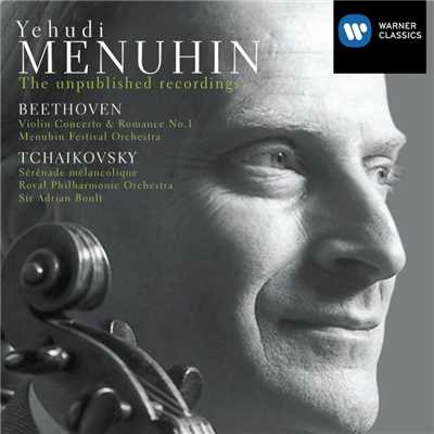 アルバム/Yehudi Menuhin : Unpublished Recordings:Beethoven/Tchaikovsky/Yehudi Menuhin
