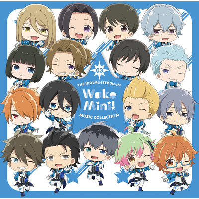 THE IDOLM@STER SideM WakeMini! MUSIC COLLECTION 03/315 STARS (インテリ Ver.)