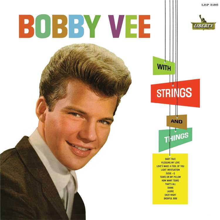 Each Night/Bobby Vee 収録アルバム『With Strings And Things』 試聴・音楽ダウンロード 【mysound】