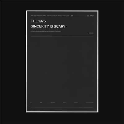 シングル/Sincerity Is Scary/The 1975