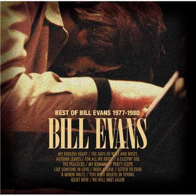 アルバム/Best Of Bill Evans 1977-1980/Bill Evans