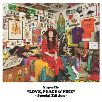 アルバム/LOVE, PEACE & FIRE -Special Edition-/Superfly