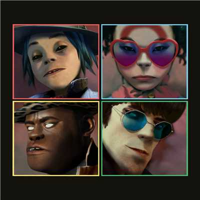 シングル/Circle Of Friendz (feat. Brandon Markell Holmes)/Gorillaz