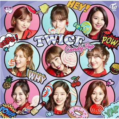 シングル/Candy Pop/TWICE