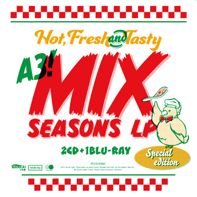 ハイレゾアルバム/A3! MIX SEASONS LP 【SPECIAL EDITION】/Various Artists