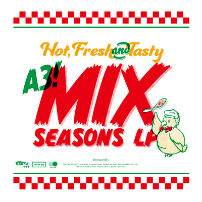 A3! MIX SEASONS LP 【Instrumental】/Various Artists