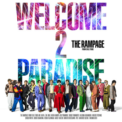 ハイレゾアルバム/WELCOME 2 PARADISE/THE RAMPAGE from EXILE TRIBE