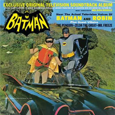 シングル/To The Batmobile!/Nelson Riddle