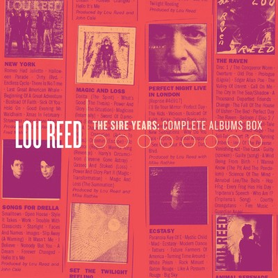 アルバム/The Sire Years: Complete Albums Box/Lou Reed