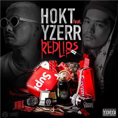 シングル/RED LIPS feat. YZERR/HOKT