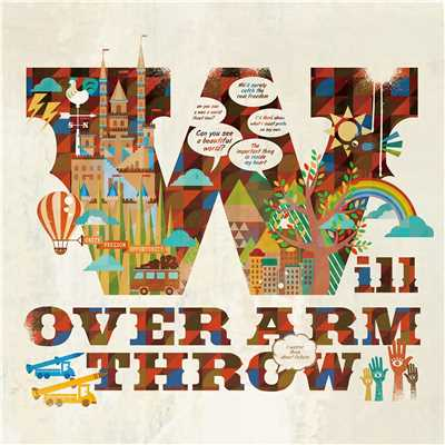 シングル/Unity!Freedom!Opportunity!/OVER ARM THROW
