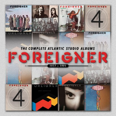 アルバム/The Complete Atlantic Studio Albums 1977-1991/Foreigner