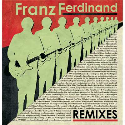 シングル/Do You Want To (Erol Alkan's Glam Racket)/Franz Ferdinand