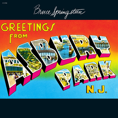 ハイレゾアルバム/Greetings from Asbury Park, N.J./Bruce Springsteen