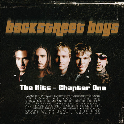 アルバム/The Hits--Chapter One/Backstreet Boys
