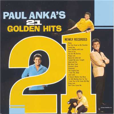 アルバム/21 Golden Hits/Paul Anka