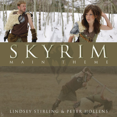 Skyrim (Main Theme)/Peter Hollens & Lindsey Stirling