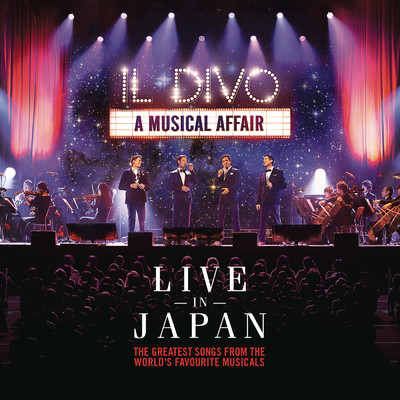 アルバム/A Musical Affair: Live in Japan/Il Divo