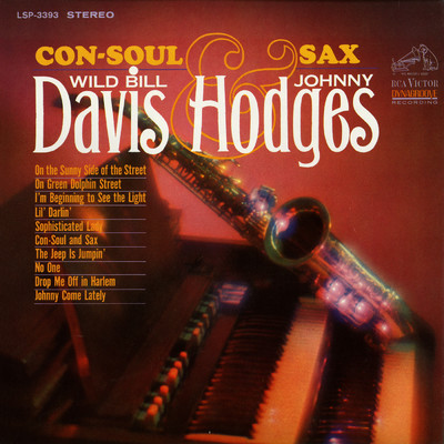 シングル/Johnny Come Lately/Wild Bill Davis & Johnny Hodges