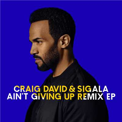 シングル/Ain't Giving Up (White N3rd Remix)/Craig David & Sigala