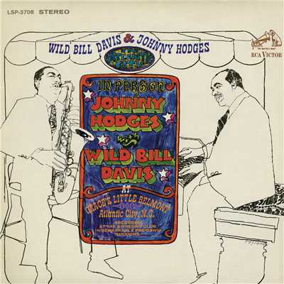 シングル/In a Mellotone (Live)/Wild Bill Davis & Johnny Hodges