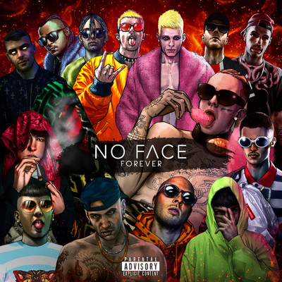 アルバム/No Face Forever/Various Artists