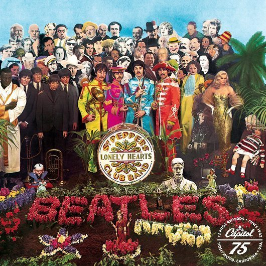 「Sgt. Pepper's Lonely Hearts Club Band」のアルバムジャケット