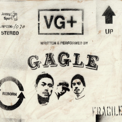 舌炎上 (feat. KGE THE SHADOWMEN)/GAGLE